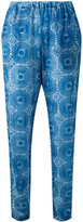 Lemlem printed tapered trousers - women - Cotton - XS
