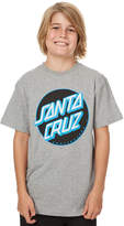 Santa Cruz Kids Boys Other Dot Tee Grey