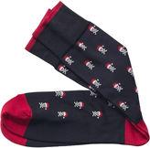 Johnston & Murphy Holiday Skull & Crossbones Socks