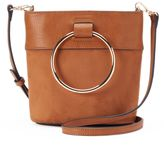 Lauren Conrad O-Ring Mini Bucket Crossbody Bag