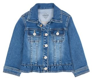 Jordache Toddler Girls Ruffle Denim Jacket