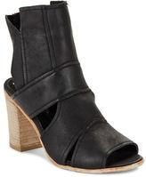 Free People Effie Cutout Leather Open Toe Heels