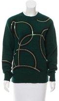 Dries Van Noten Sequined Wool Sweater