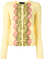 Moschino floral motif cardigan