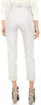 Band Of Outsiders High Waist Pants with Suspenders
