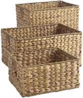Pier 1 Imports Carson Natural Wicker Shelf Storage Baskets
