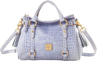 Dooney & Bourke Croco Fino Small Satchel
