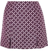 ALEXACHUNG Floral-jacquard Mini Skirt