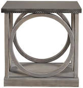 One Kings Lane Whitney Wood Side Table - Gray