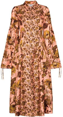 Evi Grintela Love floral-print maxi dress