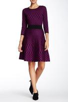Taylor Geometric Print Dress