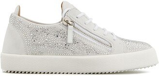 Giuseppe Zanotti Crystal-Embellished Sneakers