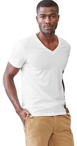 Gap V-neck stretch tee