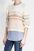 Closed Heavy Knit Pullover with Cotton