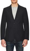 J. Lindeberg Hopper Soft Linen Dogtooth Jacket