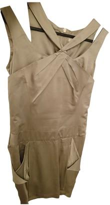 Karen Millen Metallic Silk Dress for Women