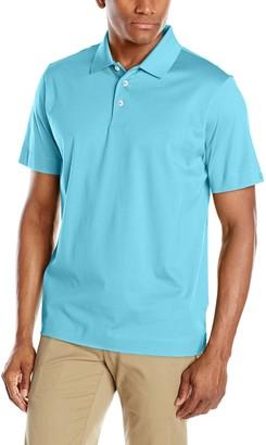 Cutter & Buck Men's Big-Tall Warrick Mercerized Luxury Solid Polo Shirt