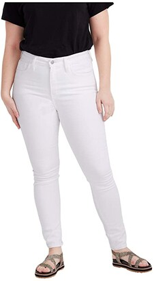 Madewell Curvy High-Rise Skinny Jeans in Pure White (Pure White) Women's Jeans
