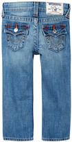 True Religion Straight Leg Single End Jean (Toddler & Little Boys)