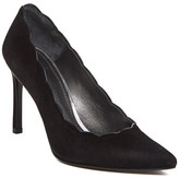 Stuart Weitzman Scallop Pointed Toe Pump - Narrow Width Available