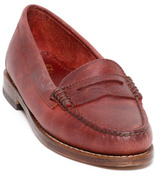 Vanessa Penny Loafers Red
