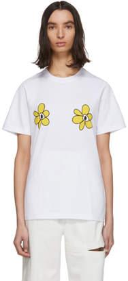 Perks And Mini White Vera Chytilova T-Shirt