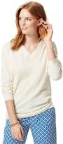 Tommy Hilfiger Final Sale-Spring Weight V-Neck Sweater