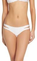 Luli Fama Women's Zig Zag Reversible Cutout Bikini Bottoms
