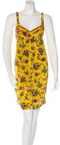 Jean Paul Gaultier Silk Floral Print Dress w/ Tags