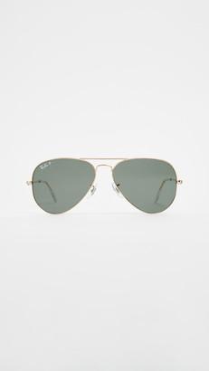 Ray-Ban RB3025 Original Aviator Polarized Sunglasses