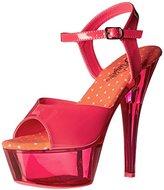 Pleaser USA Women's Kiss209uvt/nhp/m Platform Sandal