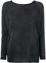 Avant Toi boat neck sweater