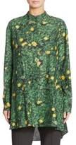 Akris Buttercup-Print Cotton Tunic