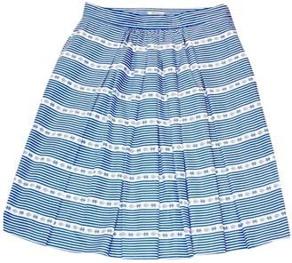 Miu Miu Blue Cotton Skirt for Women