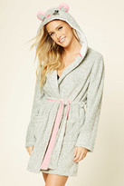 Forever 21 FOREVER 21+ Hooded Mouse Robe