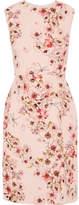 Giambattista Valli Floral-print Silk-crepe Dress