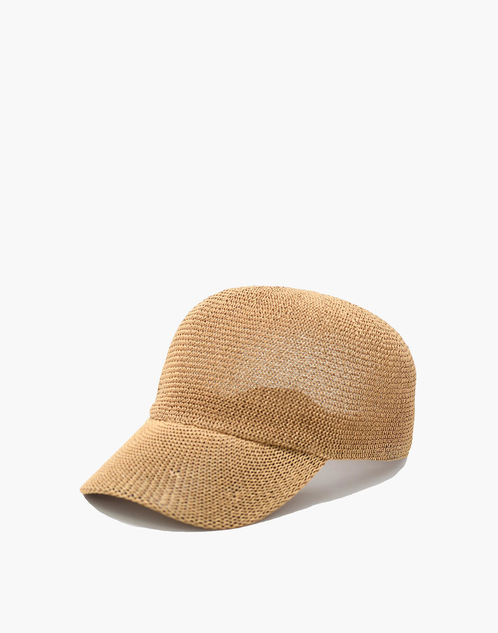 WYETH Straw Paula Baseball Cap