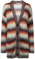 Chloé Striped Mohair Cardigan