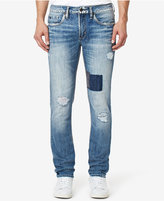 Buffalo David Bitton Men's Skinny-Fit Ripped Jeans