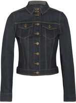 Burberry Stretch-denim Jacket - Dark denim