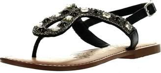 Naughty Monkey Women's Ring Teaser Dress Sandal