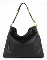 IVANKA TRUMP Crystal Bucket Hobo Bag