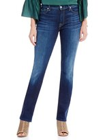 7 For All Mankind Dylan Mid Rise Straight Jeans