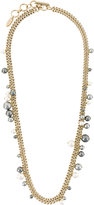 Lanvin gold-tone chain necklace