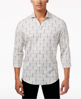 Alfani Men's Dash-Print Shirt, Created for Macy's