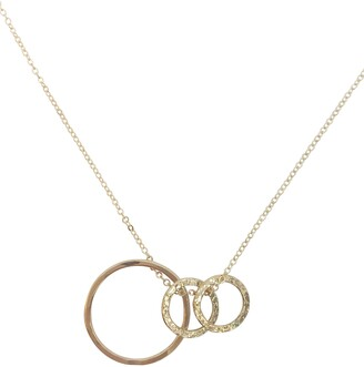 Nashelle Identity Mama & Child 3-Hoop Necklace