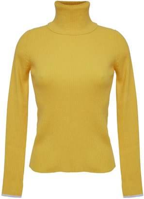 Eleven Paris Six Edie T-Neck Sweater - Canary