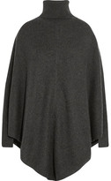 Madeleine Thompson Cashmere Turtleneck Poncho - Charcoal