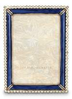"Jay Strongwater Lorraine Enamel & Stone Edge 4"" x 6"" Frame"