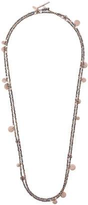 Brunello Cucinelli layered bead necklace